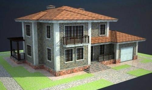 полные проекты коттеджей частных домов дуплексов и бань